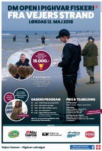 DM Open i Pighvar fiskeri 2018